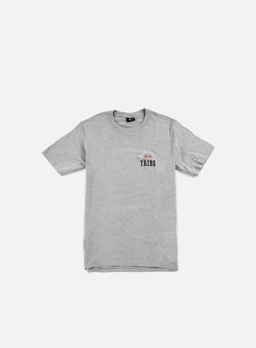 Stussy - IST Stamp T-shirt, Grey Heather