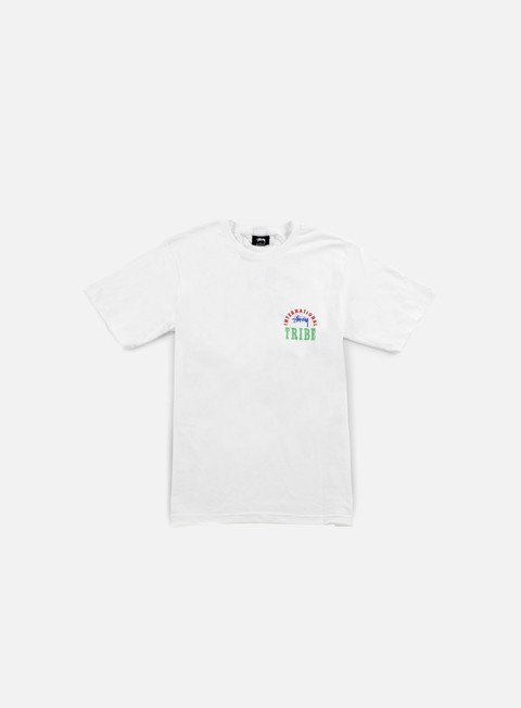 t shirt stussy ist stamp t shirt white