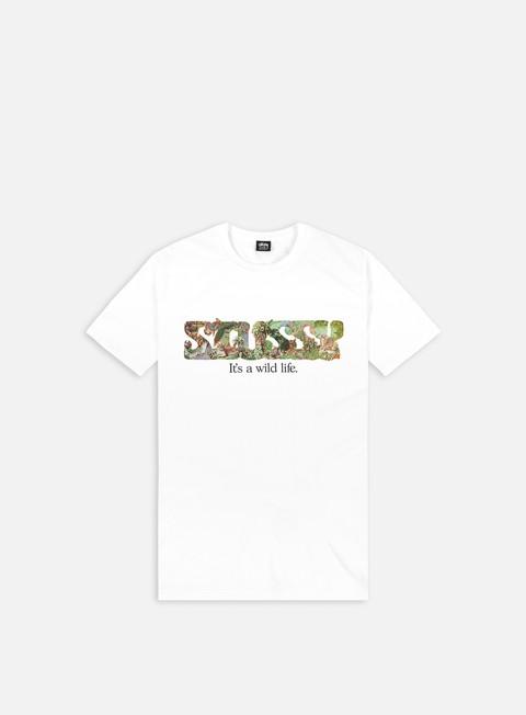 T-shirt a Manica Corta Stussy It's a Wild Life T-shirt