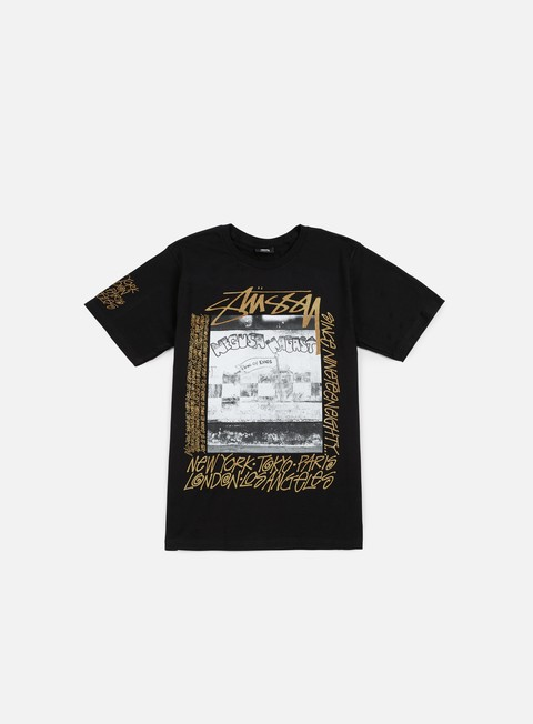 t shirt stussy king of kings t shirt black