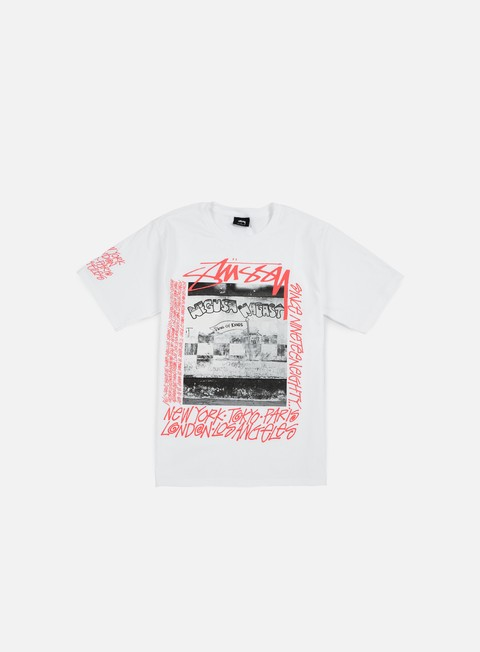 t shirt stussy king of kings t shirt white