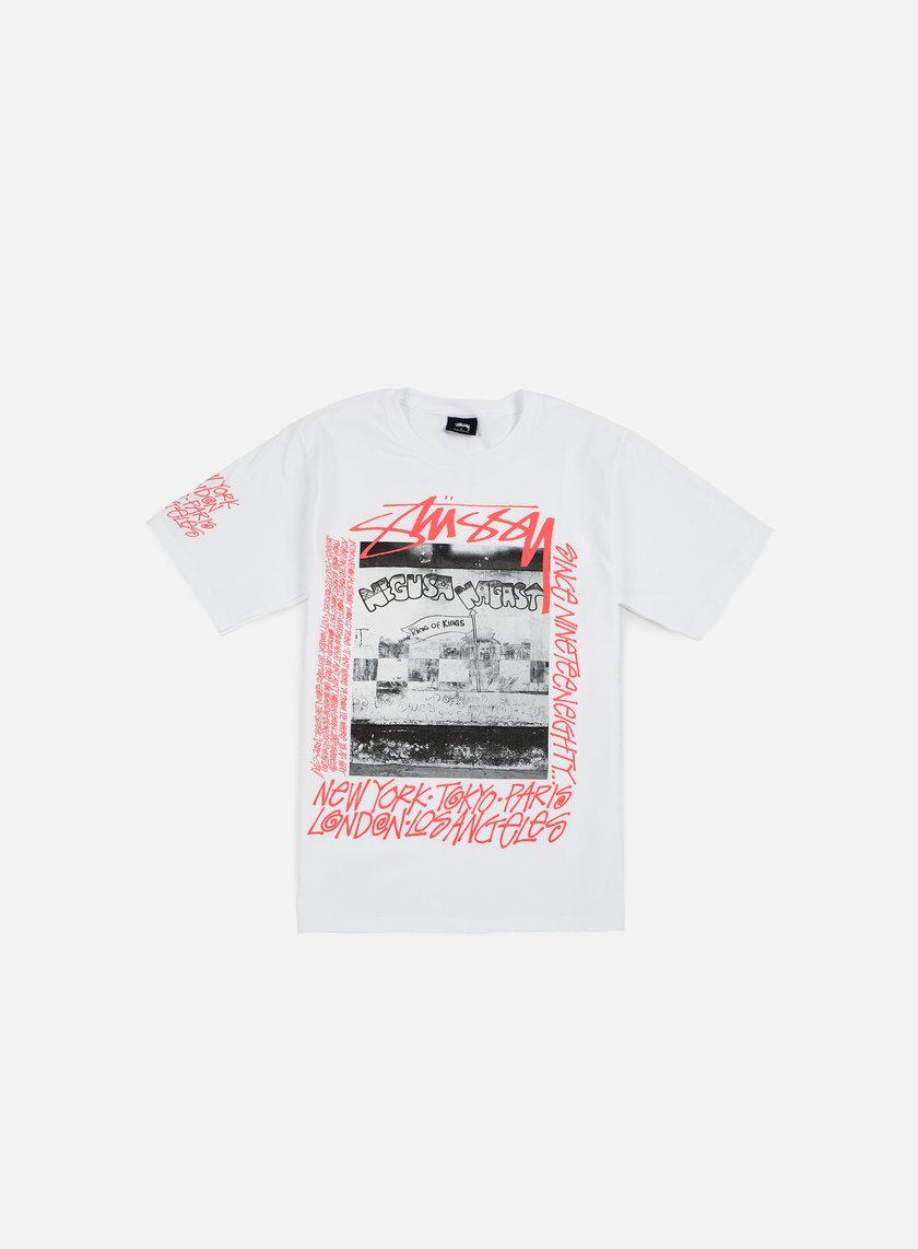 Stussy - King Of Kings T-shirt, White