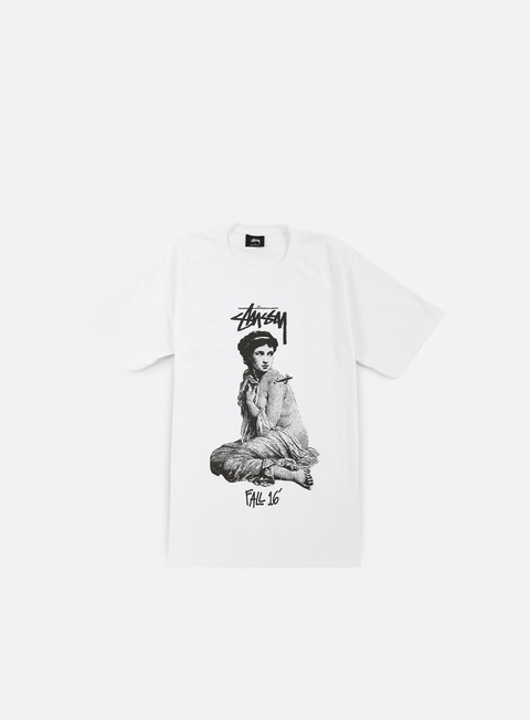 t shirt stussy lady rome t shirt white