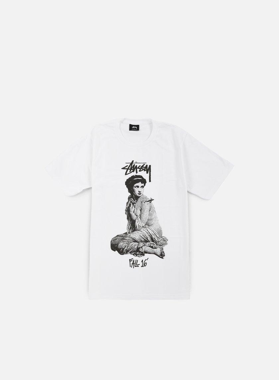 Stussy - Lady Rome T-shirt, White