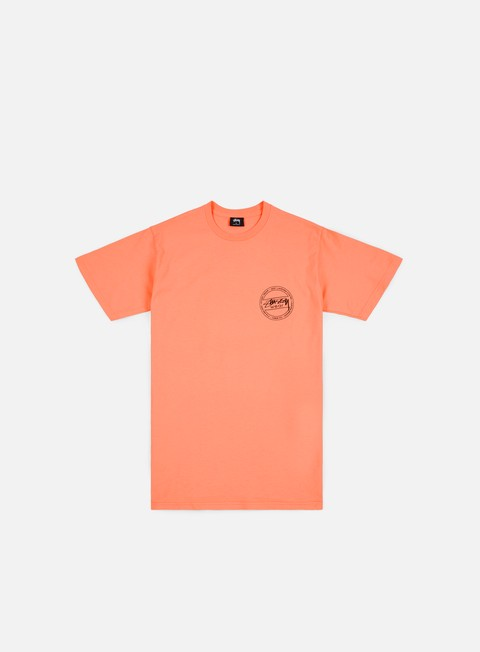 t shirt stussy laguna dot t shirt salmon