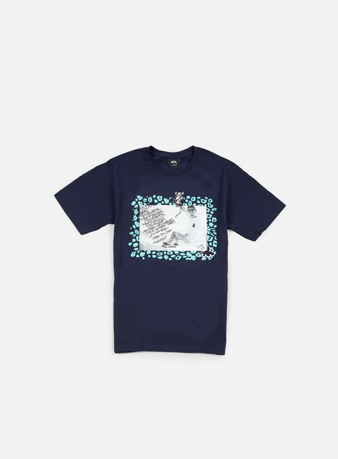 t shirt stussy lance t shirt navy