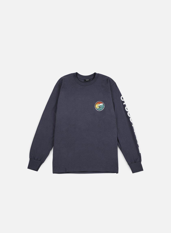 Stussy - LB Dot LS T-shirt, Midnight