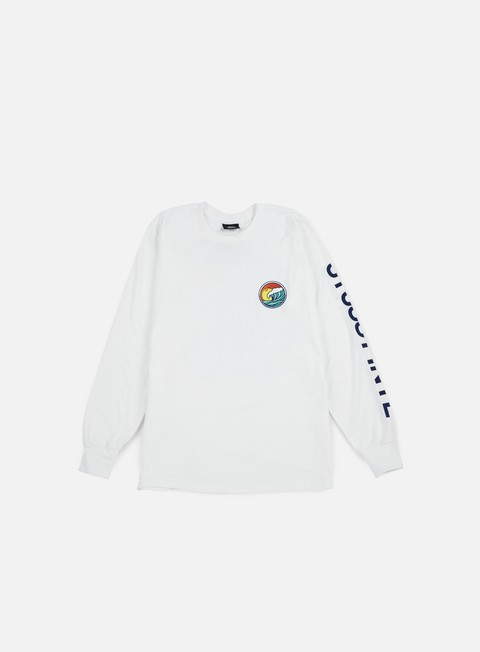 t shirt stussy lb dot ls t shirt white