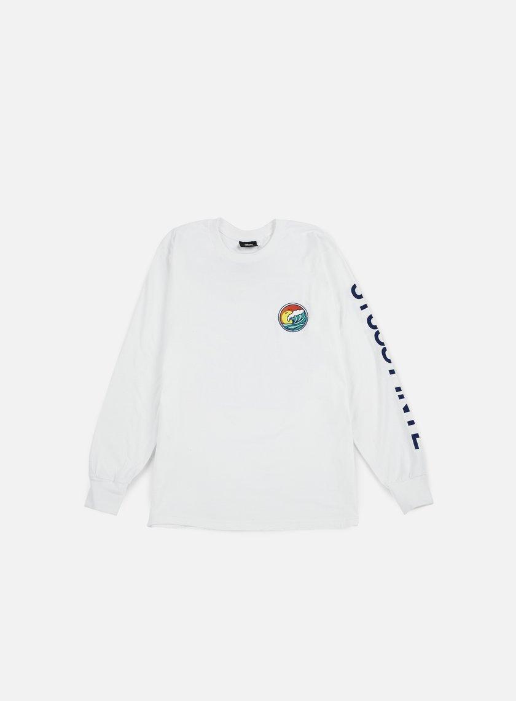 Stussy - LB Dot LS T-shirt, White