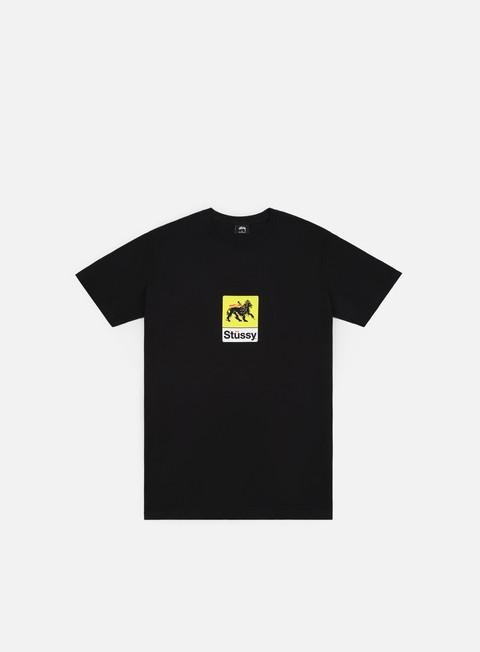 T-shirt a Manica Corta Stussy Leone T-shirt
