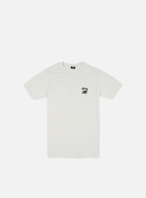 t shirt stussy lion shield t shirt stone