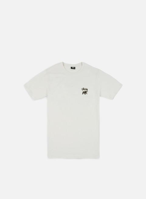 Short Sleeve T-shirts Stussy Lion Shield T-shirt
