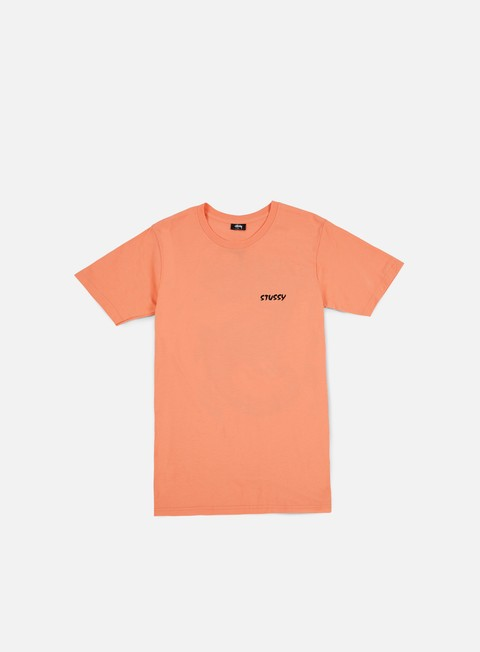 t shirt stussy neon dragon t shirt salmon