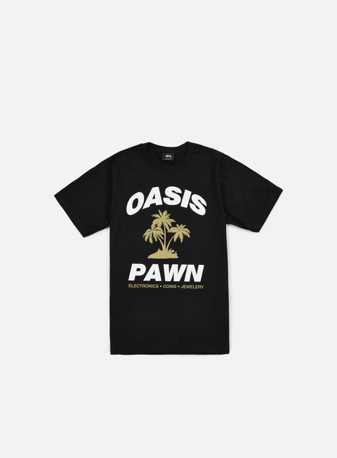 t shirt stussy oasis pawn t shirt black