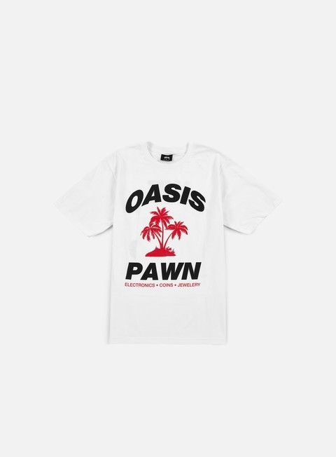 Outlet e Saldi T-shirt a Manica Corta Stussy Oasis Pawn T-shirt