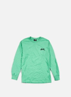 Stussy - Original Stock LS T-shirt, Green