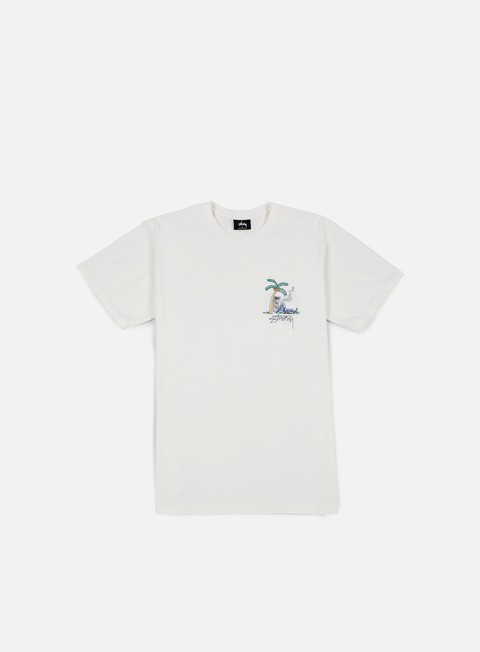 t shirt stussy rub a dug pigment dyed t shirt natural