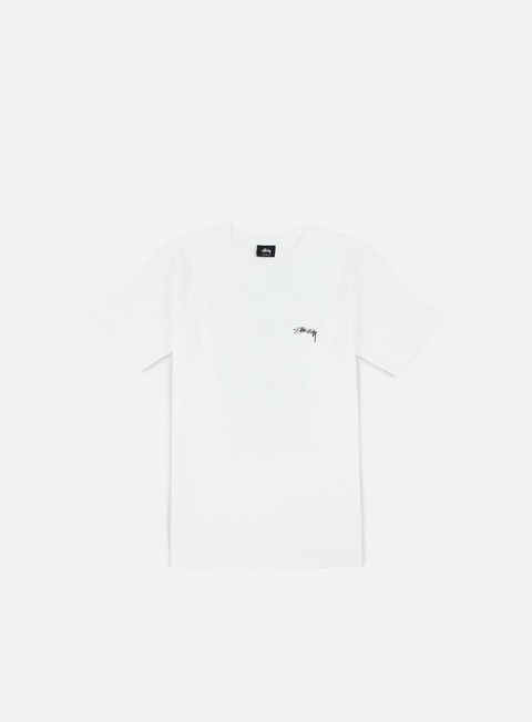 t shirt stussy samuri rat t shirt white