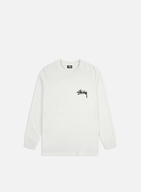 T-shirt a Manica Lunga Stussy Spring Weed Pigment Dyed LS T-shirt