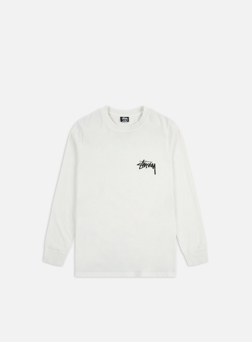 Stussy Spring Weed Pigment Dyed LS T-shirt