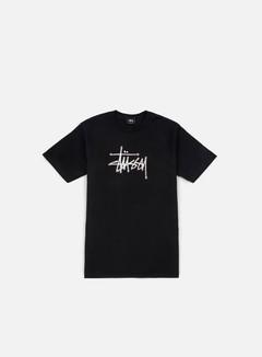 Stussy - Stipple Stussy T-shirt, Black 1