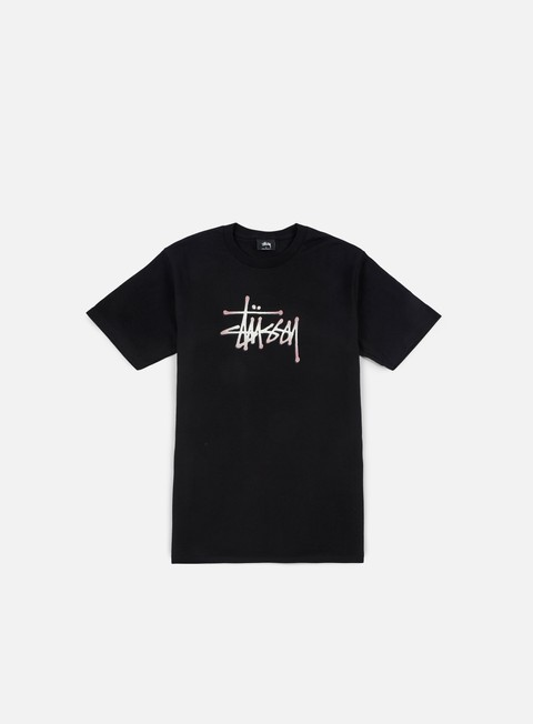 T-shirt Logo Stussy Stipple Stussy T-shirt