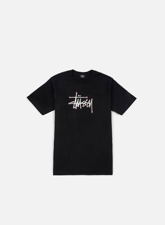 Stussy - Stipple Stussy T-shirt, Black