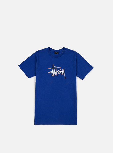 t shirt stussy stipple stussy t shirt dark blue