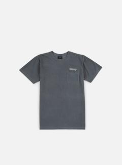 Stussy - Stitch Pigment Dye T-shirt, Black 1