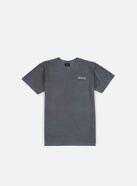 t shirt stussy stitch pigment dye t shirt black