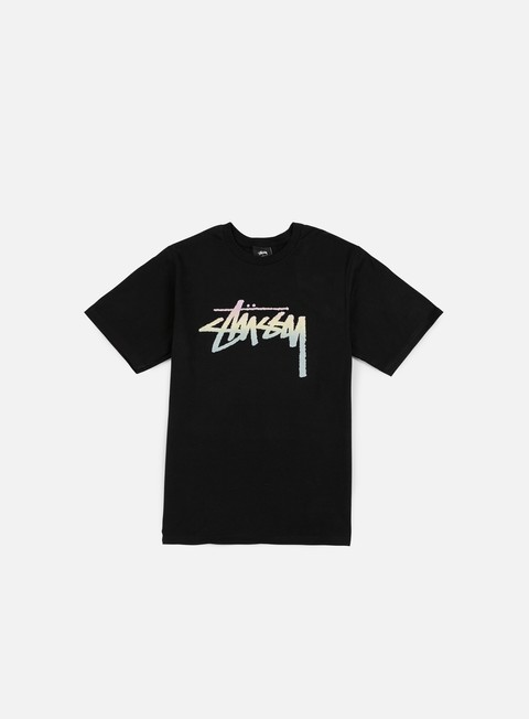 t shirt stussy stock fade t shirt black