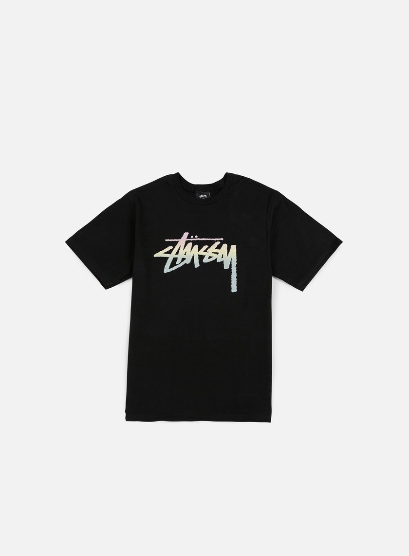 Stussy - Stock Fade T-shirt, Black