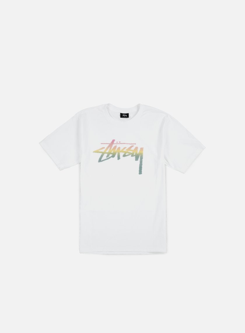 Stussy - Stock Fade T-shirt, White
