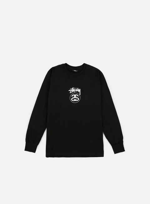 t shirt stussy stock link ho16 ls t shirt black