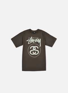 Stussy - Stock Link T-shirt, Charcoal 1