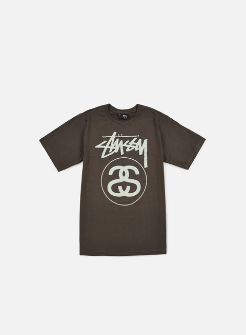t shirt stussy stock link t shirt charcoal
