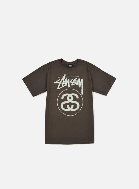 Outlet e Saldi T-shirt a Manica Corta Stussy Stock Link T-shirt