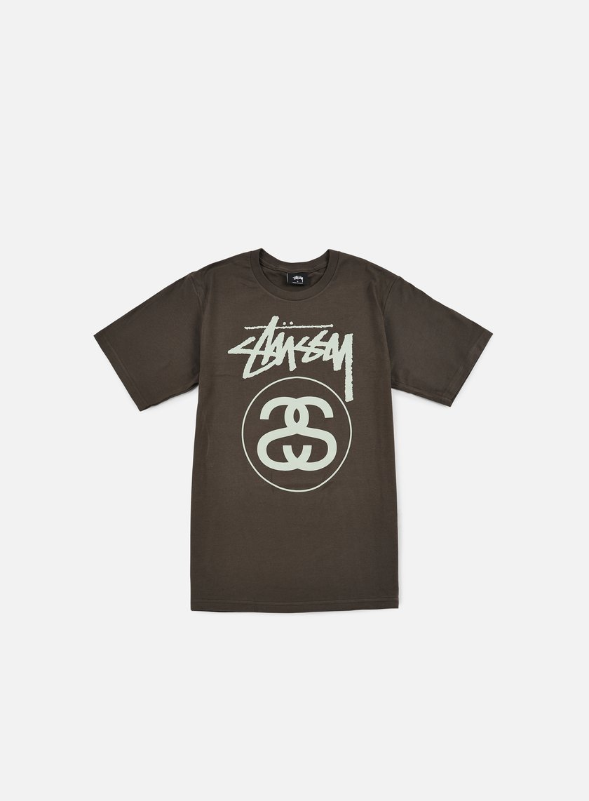 Stussy - Stock Link T-shirt, Charcoal