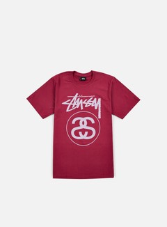 Stussy - Stock Link T-shirt, Grape