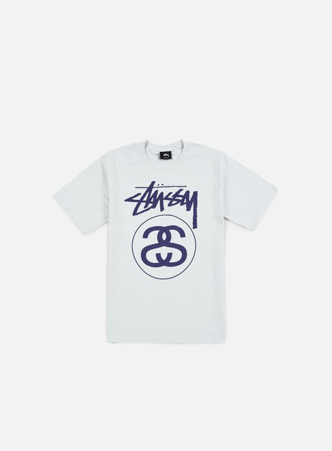 t shirt stussy stock link t shirt ice blue