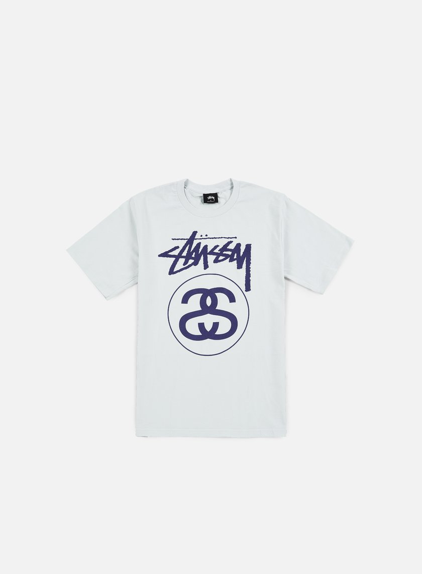 Stussy - Stock Link T-shirt, Ice Blue