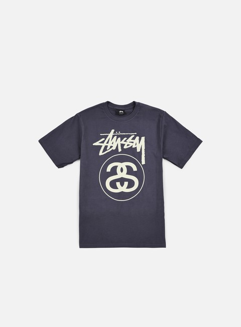 t shirt stussy stock link t shirt midnight