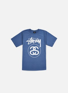 Stussy - Stock Link T-shirt, Steel