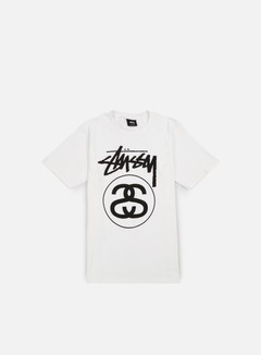 Stussy - Stock Link T-shirt,White/Black 1