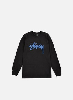 Stussy - Stock LS T-shirt, Black 1