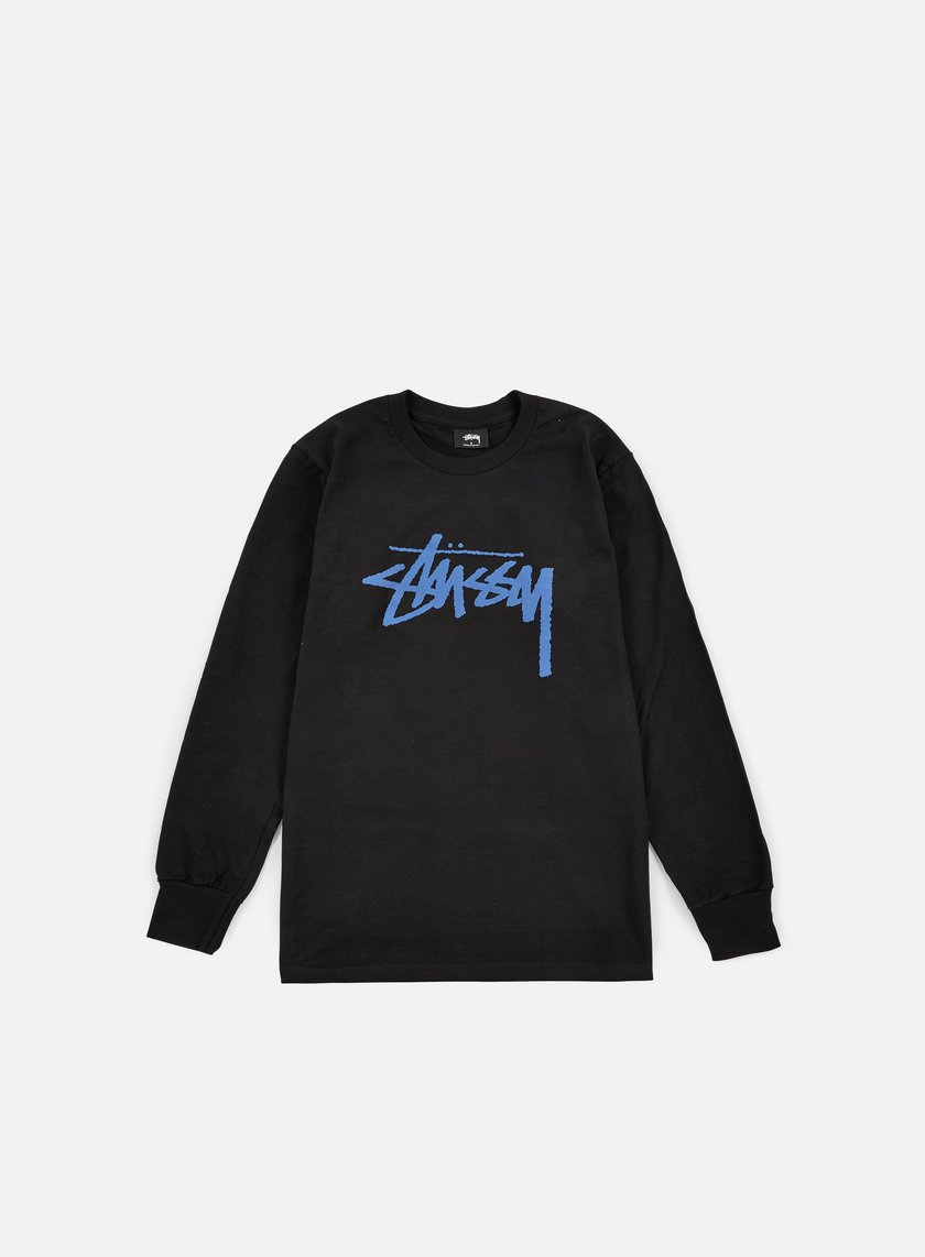 Stussy - Stock LS T-shirt, Black