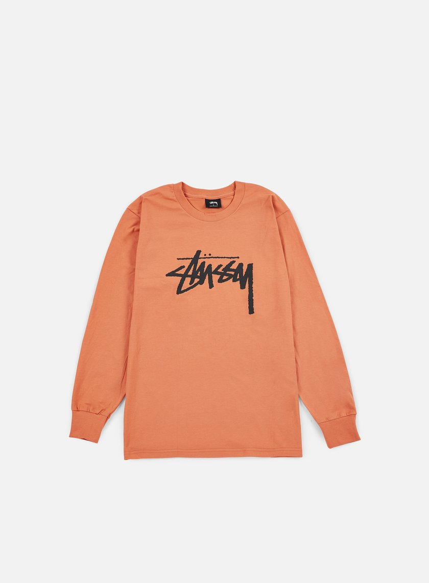 Stussy - Stock LS T-shirt, Coral