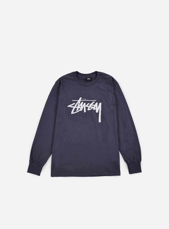 Stussy - Stock LS T-shirt, Midnight