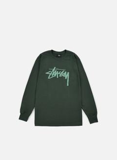 Stussy - Stock LS T-shirt, Pine