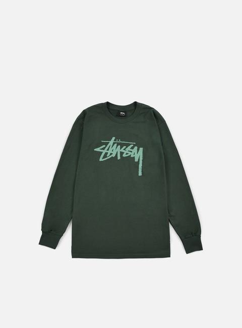 t shirt stussy stock ls t shirt pine